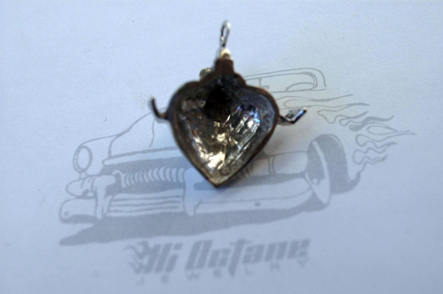 motor necklace for your gearhead gearheart in